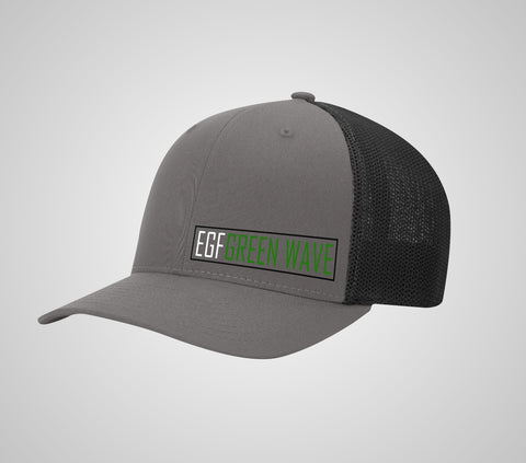 EGF  Green Wave Flex Fit Mesh Hat