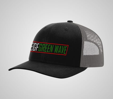 EGF Green Wave Low Pro Trucker
