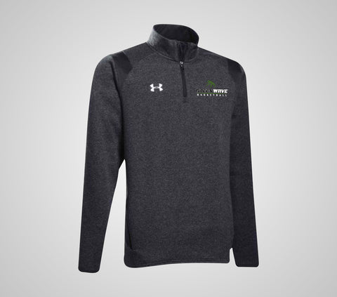 EGF Basketball - UA Hustle Fleece 1/4 Zip