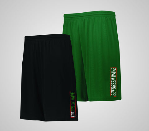 EGF Green Wave Shorts - Adult