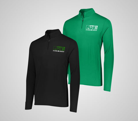 EGF Green Wave Attain 1/4 Zip - Youth