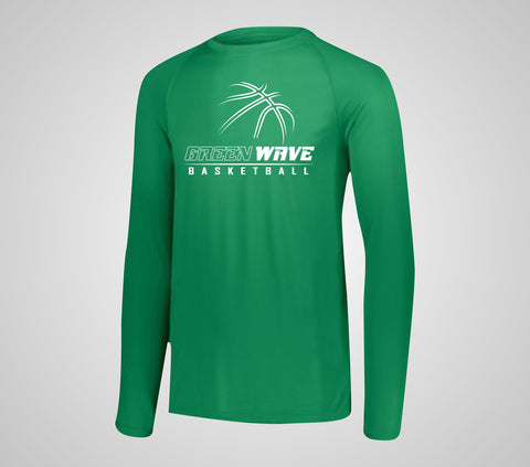 EGF Basketball - Team Long Sleeve Performance Shirt (Adult/Youth)