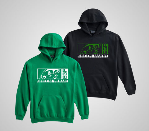 EGF Green Wave Core Hoodie - Adult