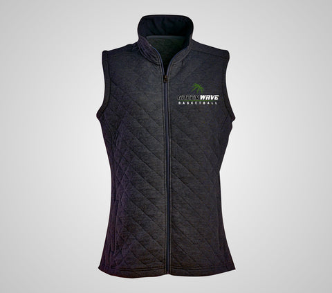 EGF Basketball - Quilted Full Zip Vest (Women's)