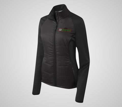 EGF Green Wave Hyrid Jacket - Ladies