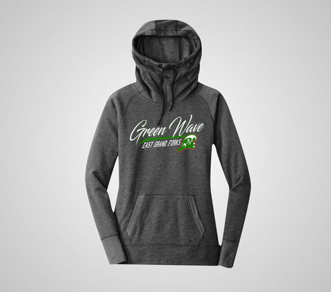 EGF Green Wave Tri-Bleand Pullover - Ladies