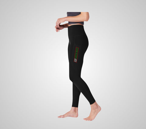 EGF Green Wave Ladies Leggings