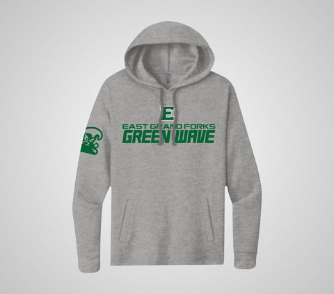 "EGF Green Wave ""The Level"" Hoodie"