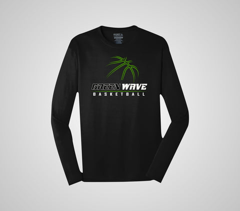 EGF Basketball - Performance Long Sleeve Shirt (Adult/Youth)