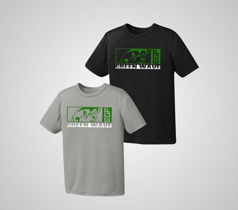 EGF Green Wave Performance Shirt - Youth