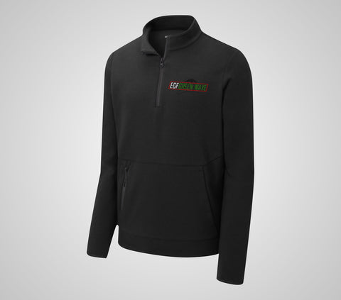EGF Green Wave Triumph Quarter Zip - Adult