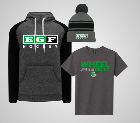 EGF Hockey - Hoodie/Beanie Combo (Adult/Youth)