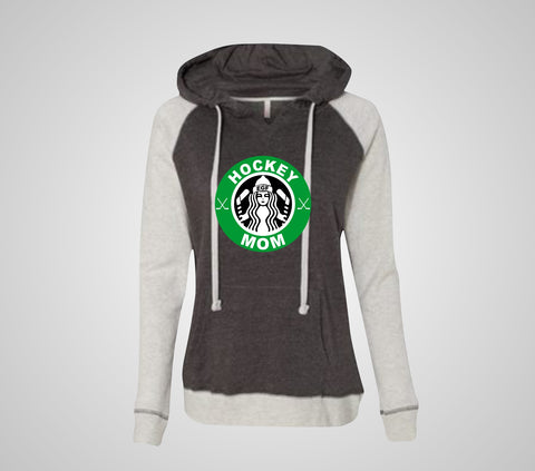 "EGF Hockey - Raglan ""Star""bucks Hoodie (Women's)"