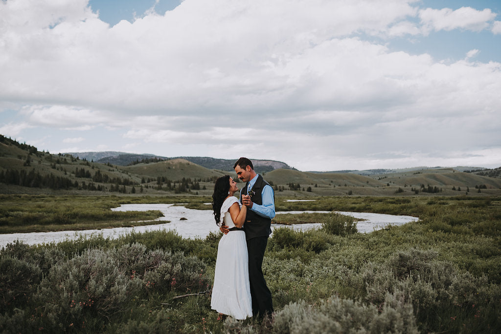 Cait Carr Photography; Western Weddings; Montana