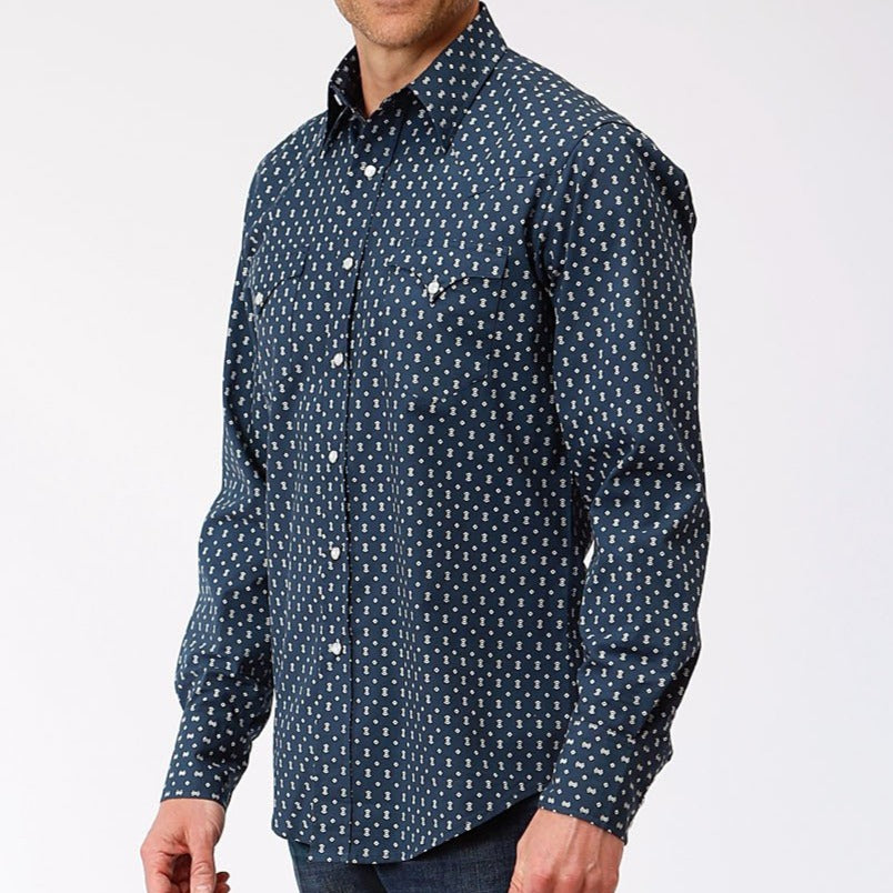 Performance Print Snap Shirt