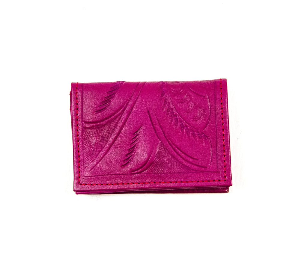 Business Card Holder: Pink - headwestbozeman