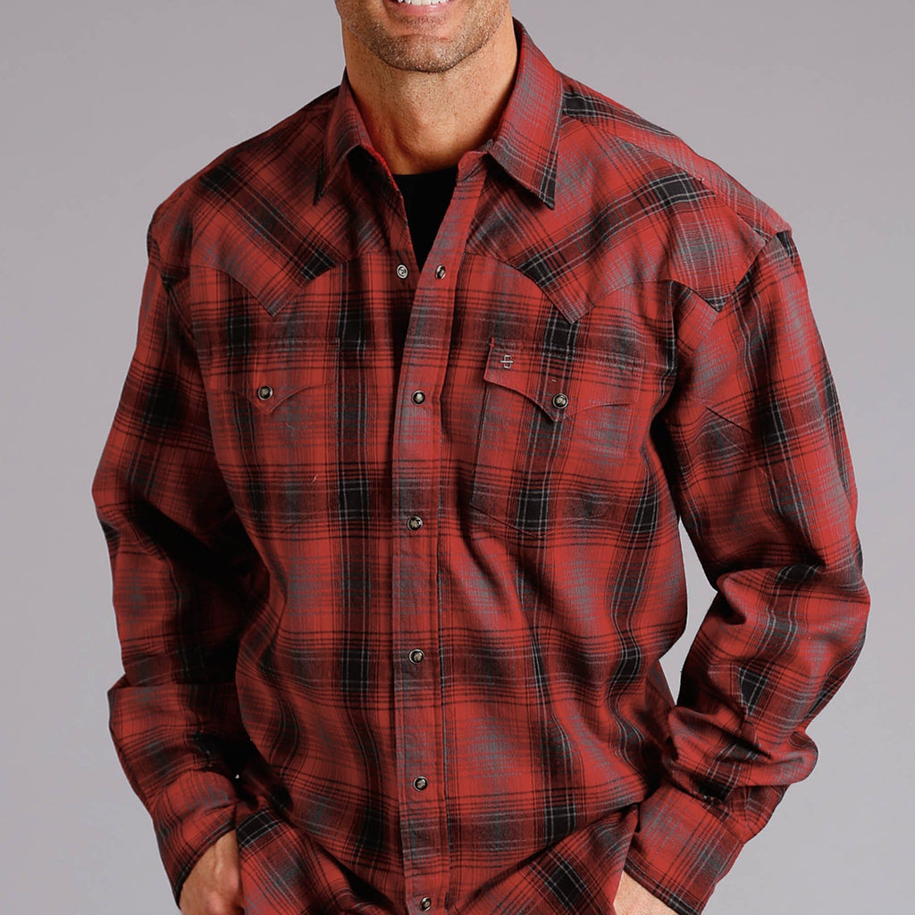 Brushed Twill Plaid