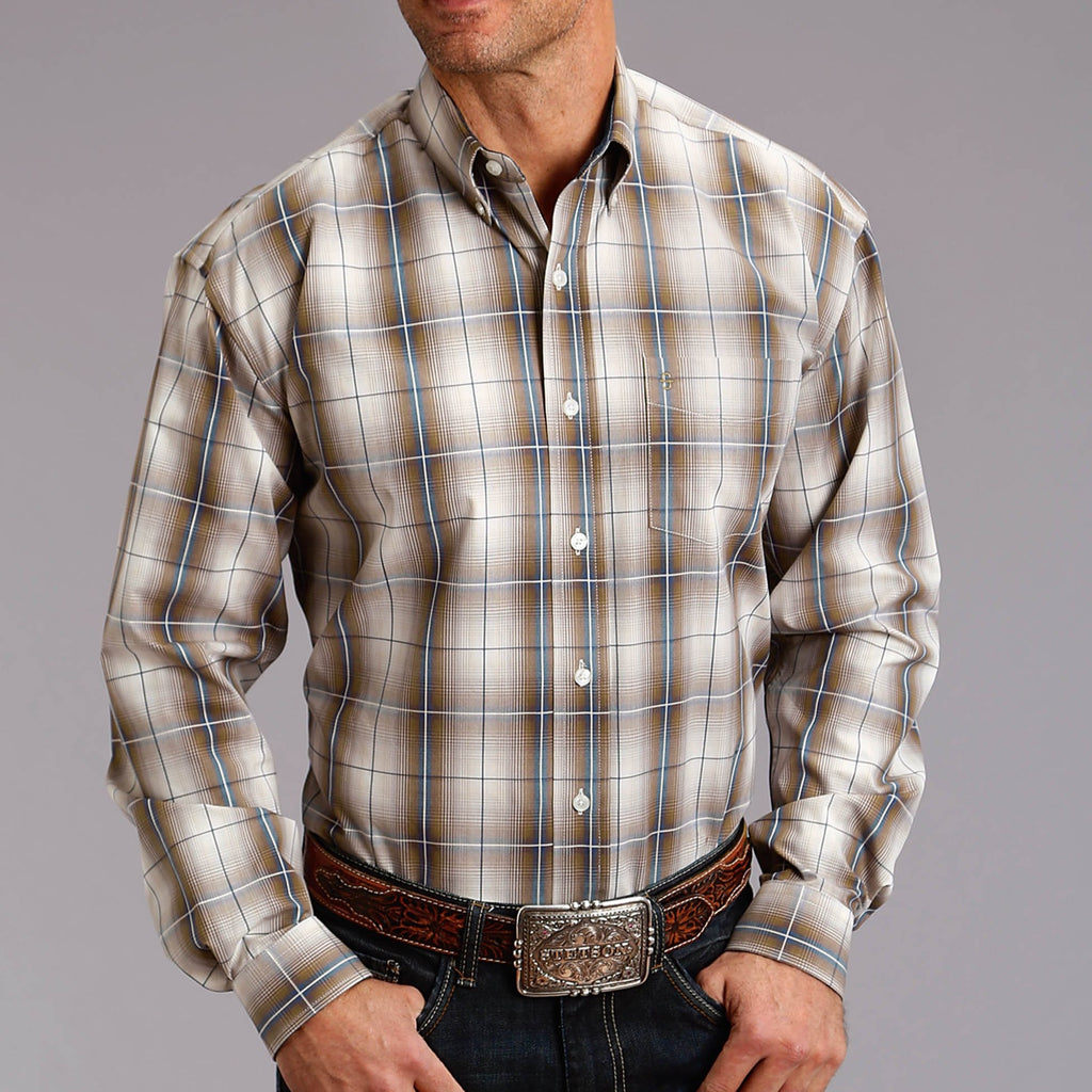 Stetson Snap Plaid Shirt