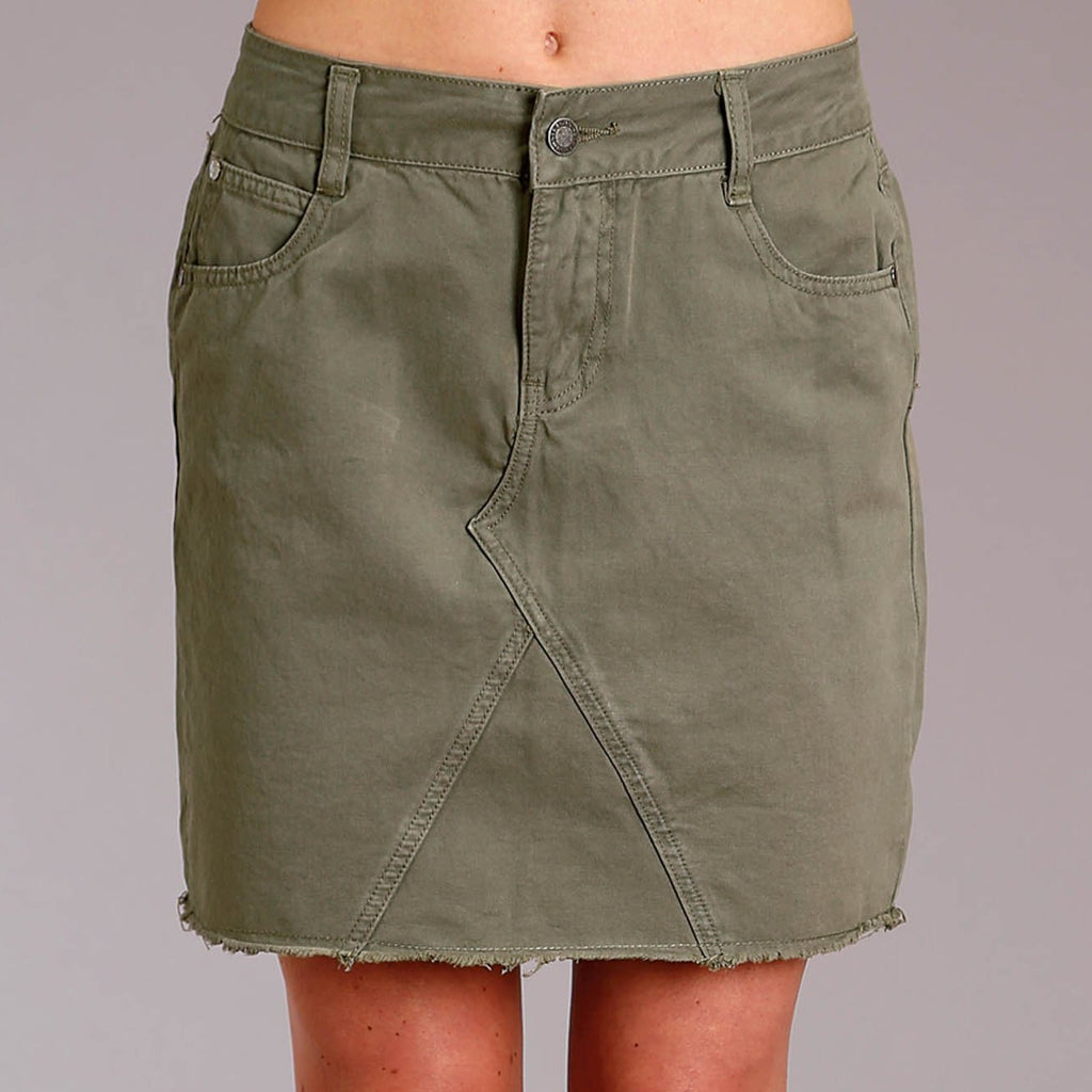 Stetson Olive Twill Skirt