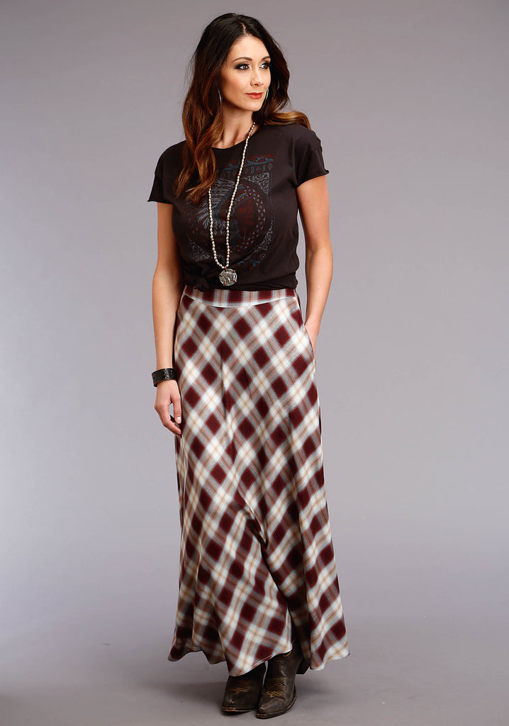 Harvest Plaid Skirt