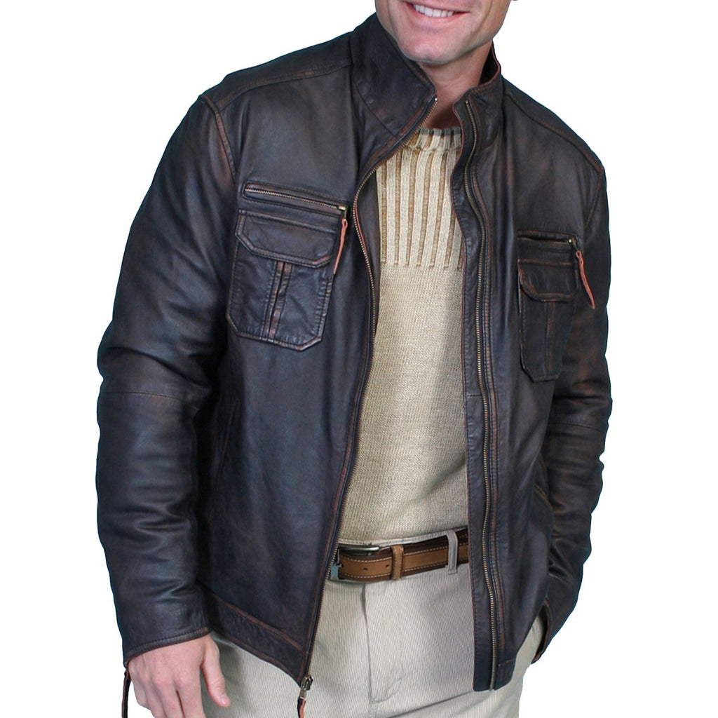 Scully Lambskin Leather Jacket - headwestbozeman