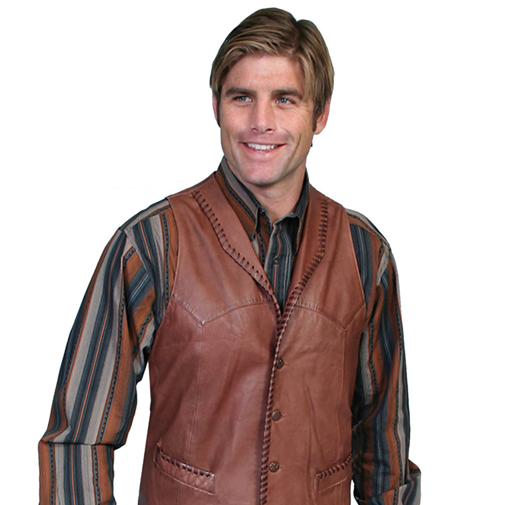 Scully Leather Trailrider Vest - headwestbozeman