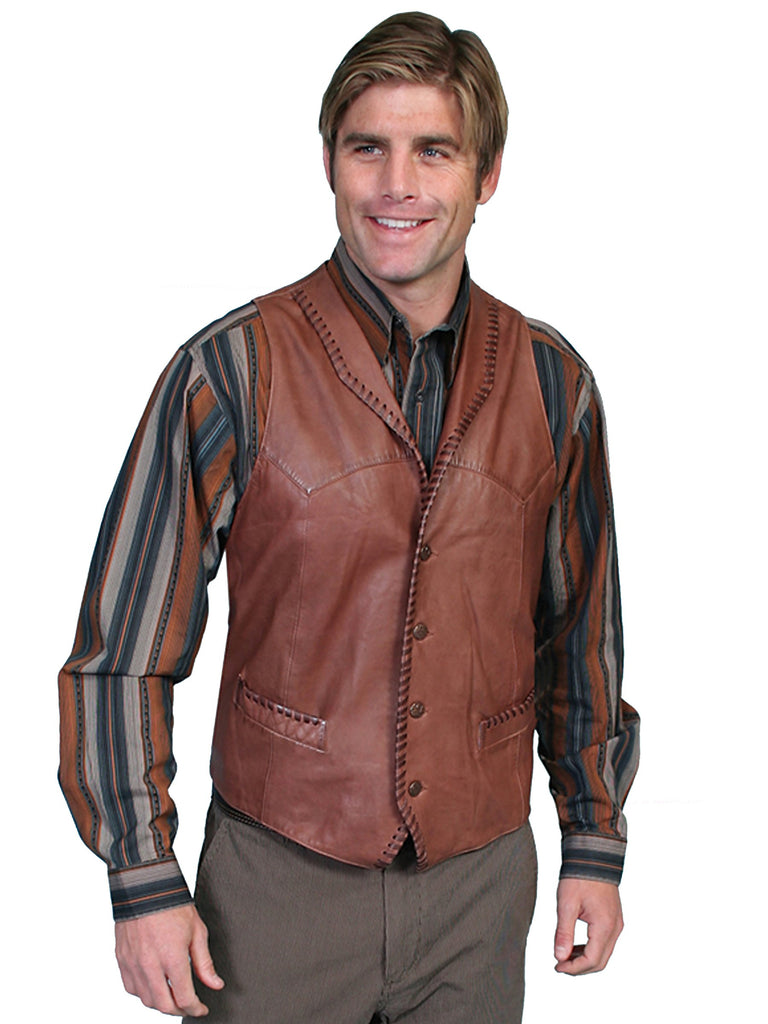 Leather Trailrider Vest