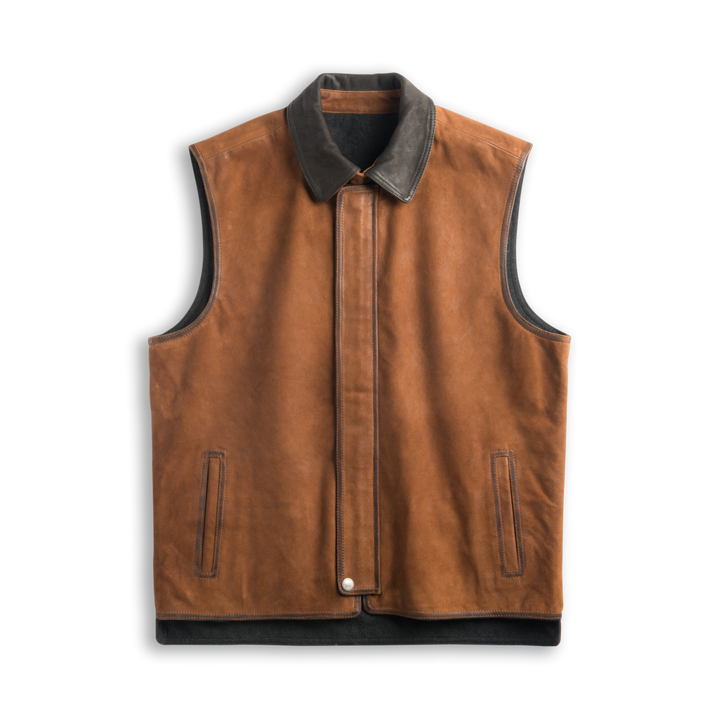Memphis Reversible Leather Vest