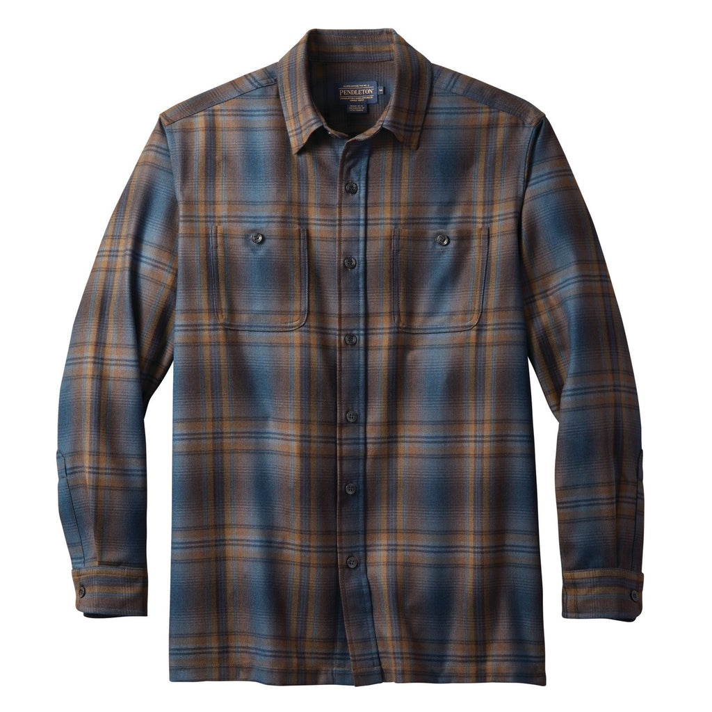 A Pendleton men's wool flannel shirt.