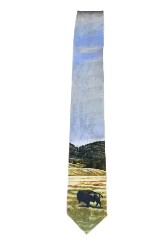 """The American"" Silk Tie"