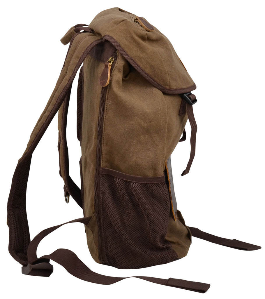 Canvas Backpack - headwestbozeman