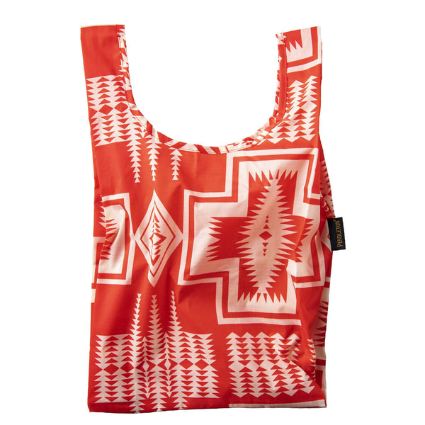 Pendleton Baby Baggu GB344-54551; Harding Red Small Shopping Tote Bag Accessory Nylon Reusable Bag Head West Bozeman