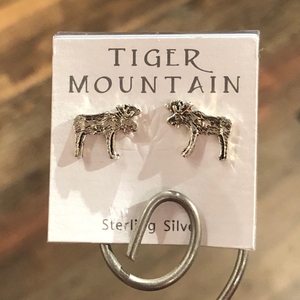 Moose Stud Earrings - headwestbozeman