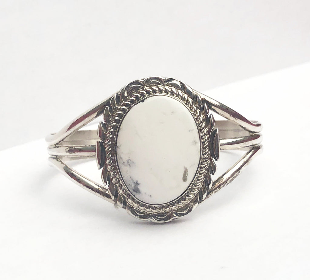 White Buffalo Sterling Cuff - headwestbozeman
