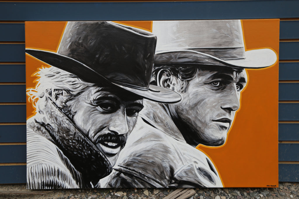 """Butch Cassidy and the Sundance Kid"" by Will Hunter - headwestbozeman"