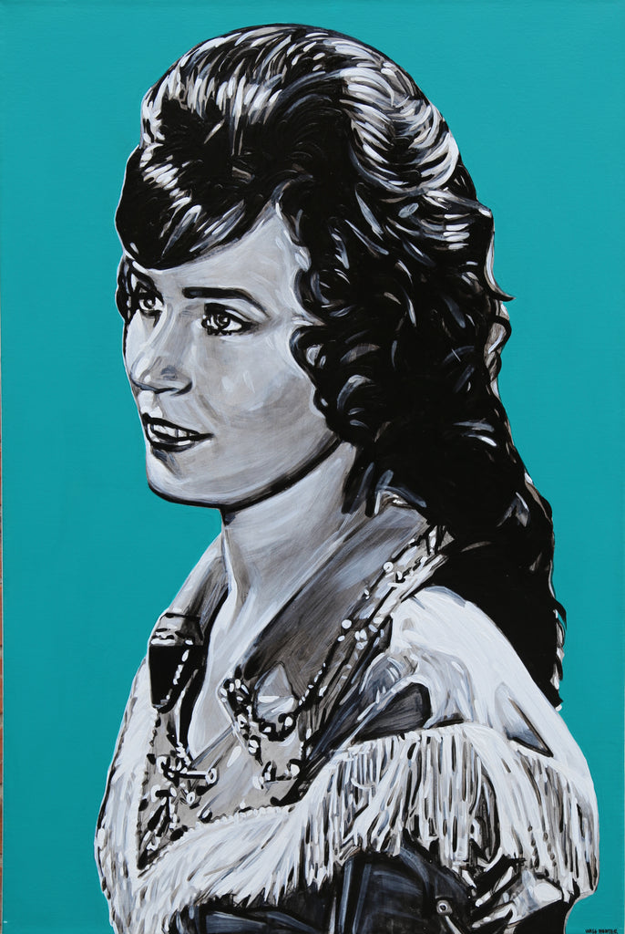 Loretta Lynn by Will Hunter - headwestbozeman