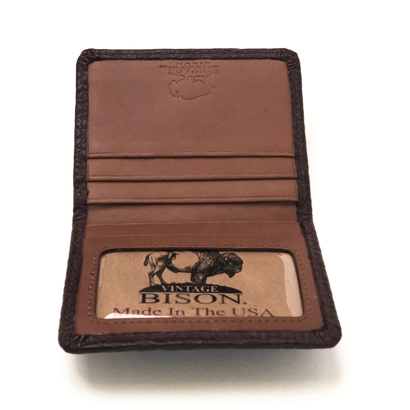 Vintage Bison Tucson Wallet Western Fashion