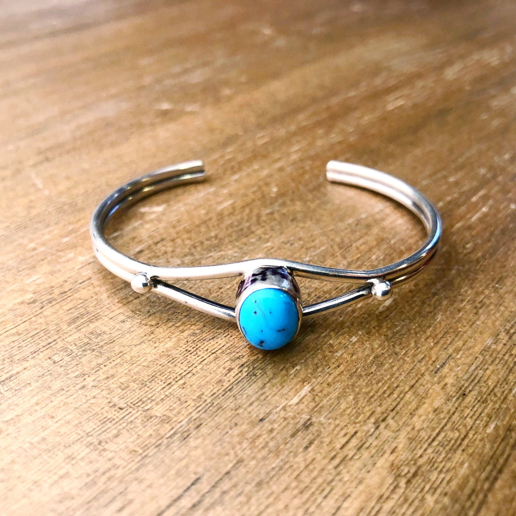 Turquoise Cuff by Native Images - headwestbozeman