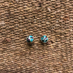 Paige Wallace Stud Earrings Gifts for Friends Handmade USA Made Sterling Silver