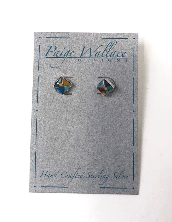 Paige Wallace Western Earring Stud Earrings Western Jewelry Montana Texas Made Rodeo Gifts