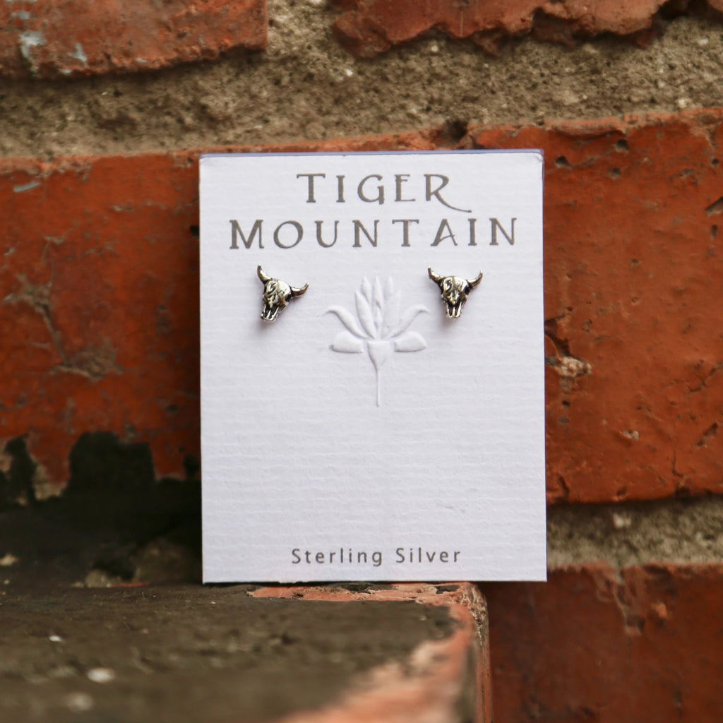 Steer Stud Earrings