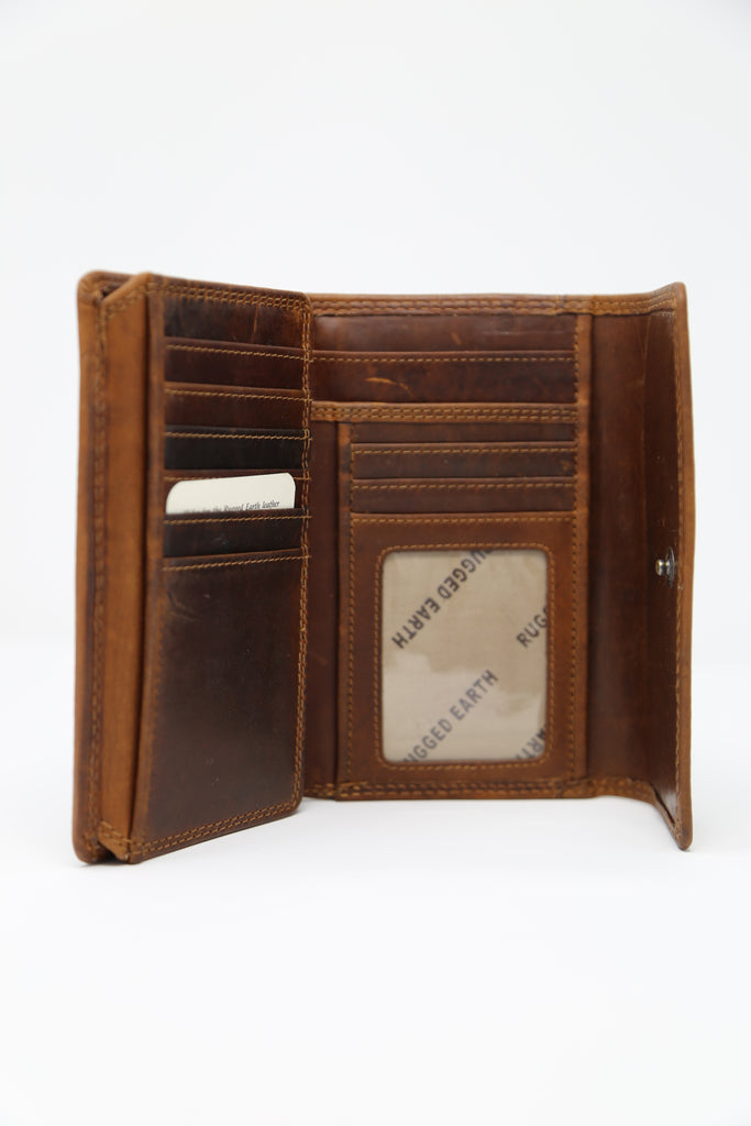 Rugged Earth Ladies Leather Wallet