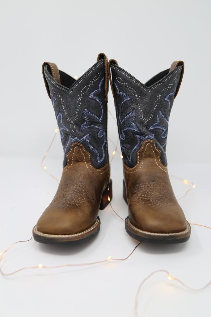 Vintage Navy Shaft Boots