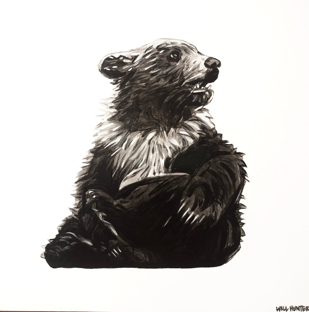 """Bear Cub"" by Will Hunter - headwestbozeman"