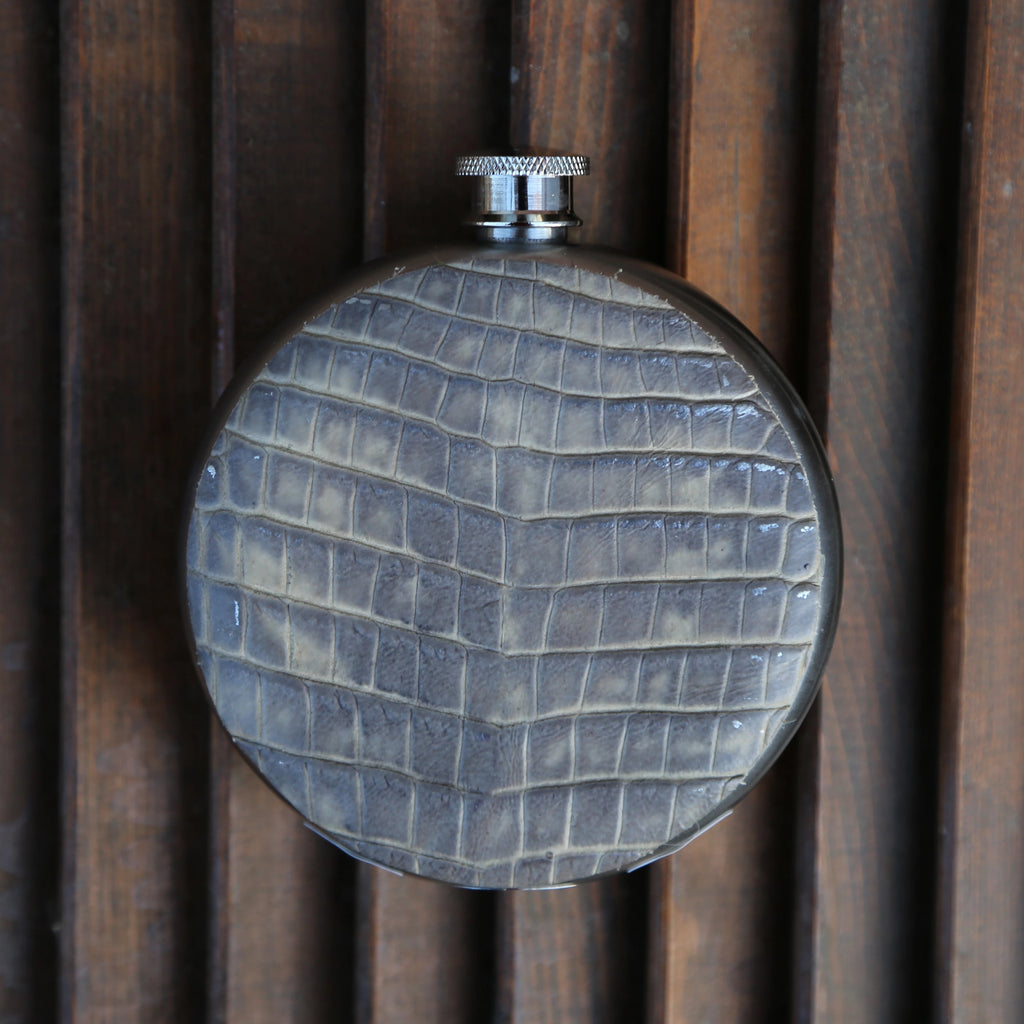 Gator 8oz Round Flask