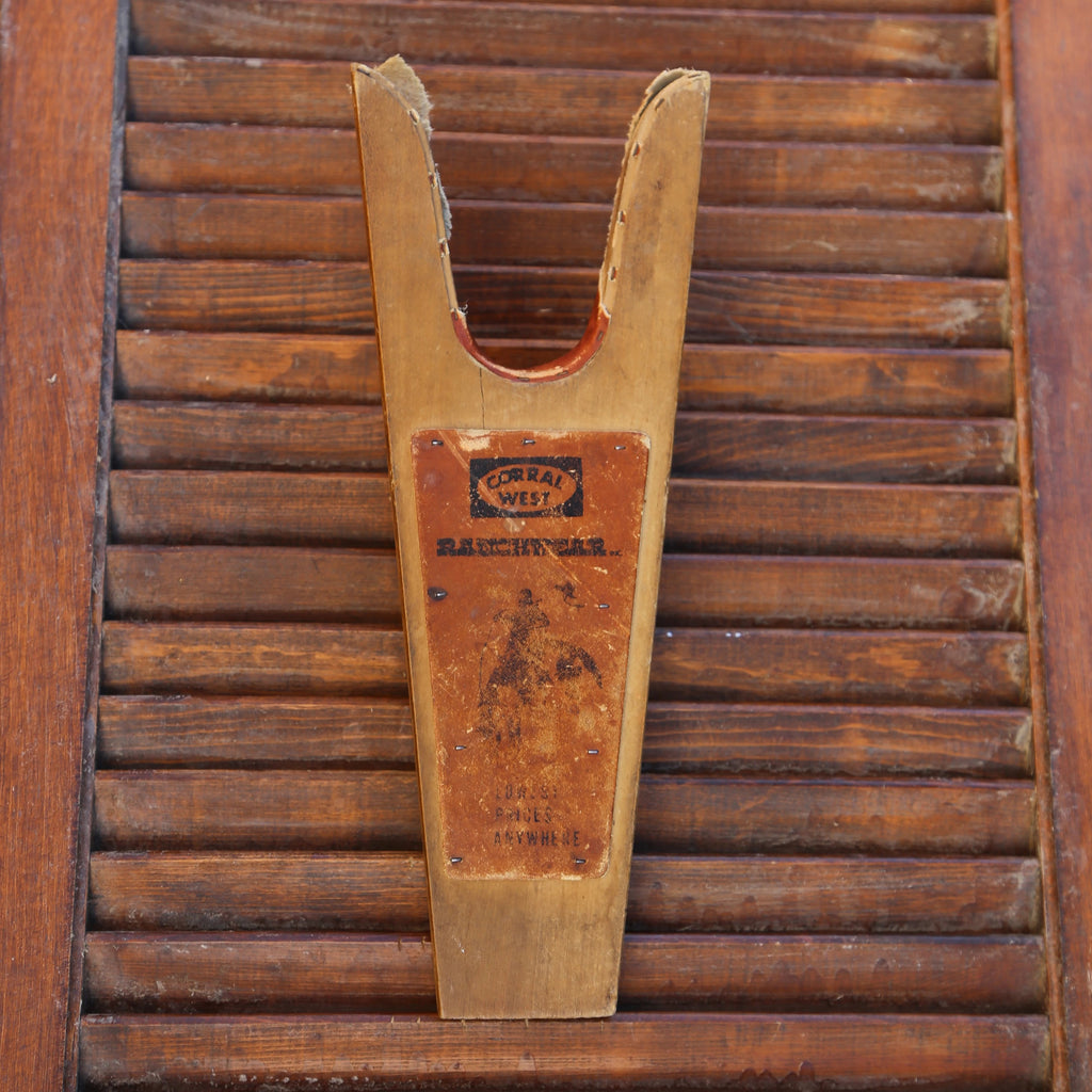 Vintage Corral West Wood Jack