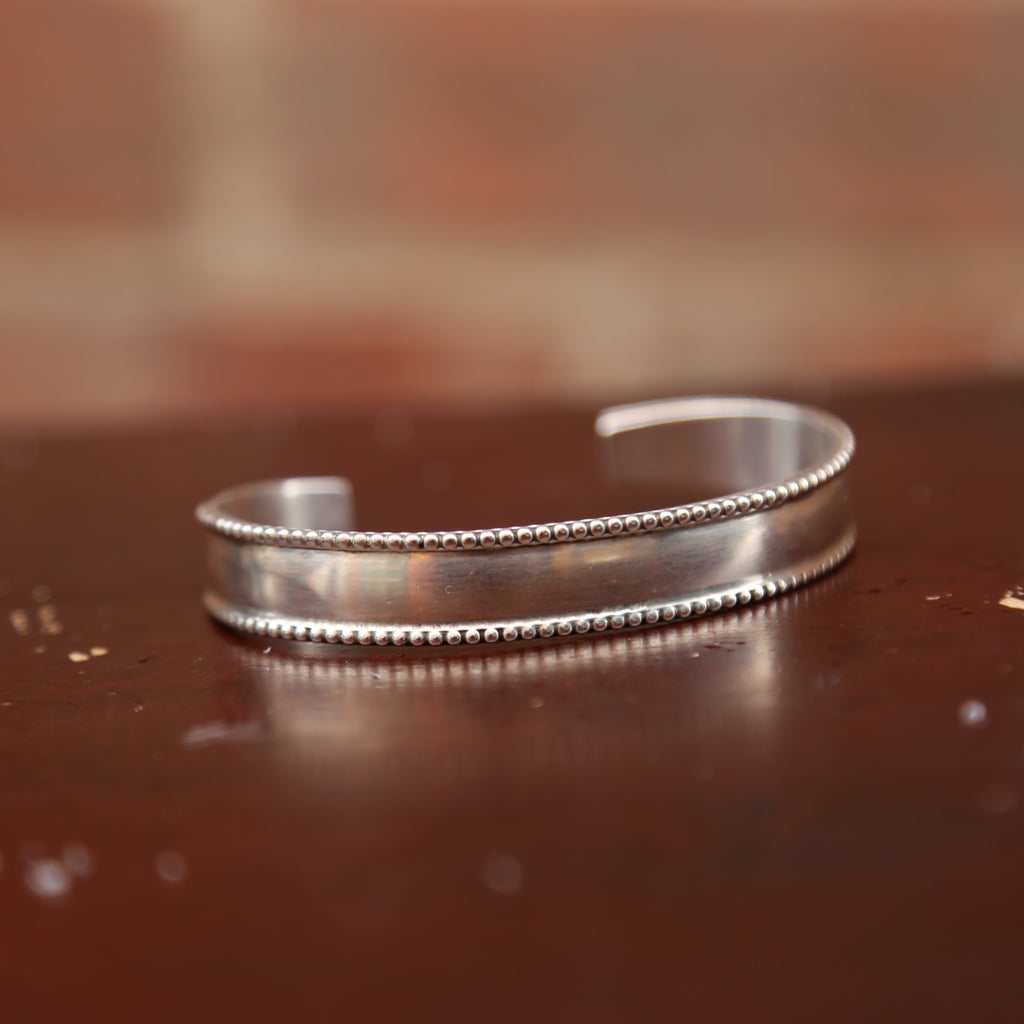 Sterling Cuff by Native Images