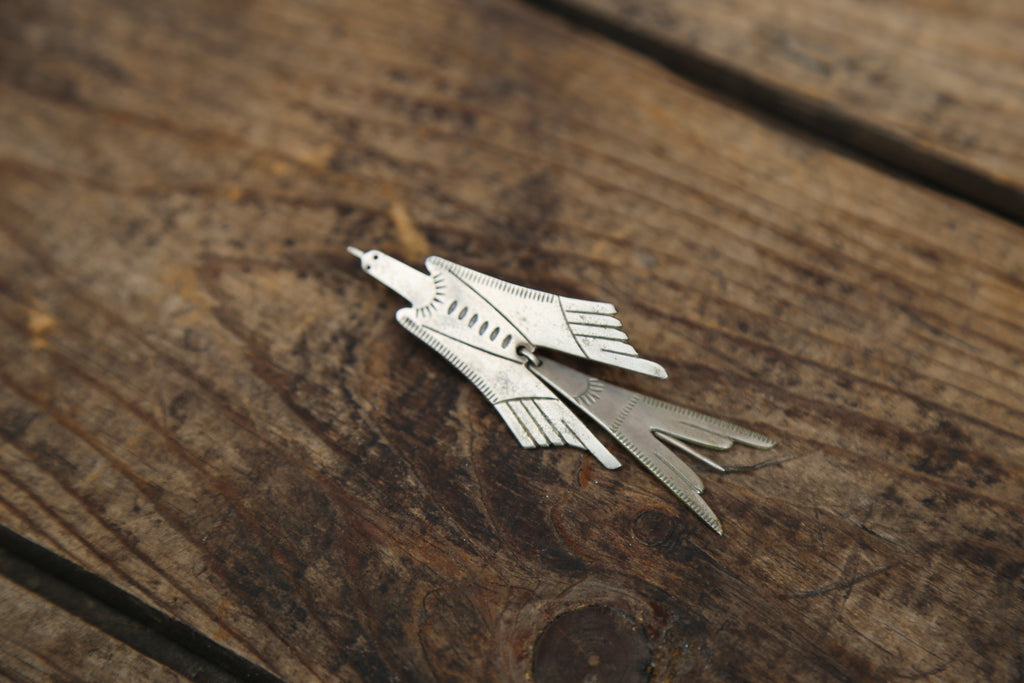 Thunderbird Long Hat Pin