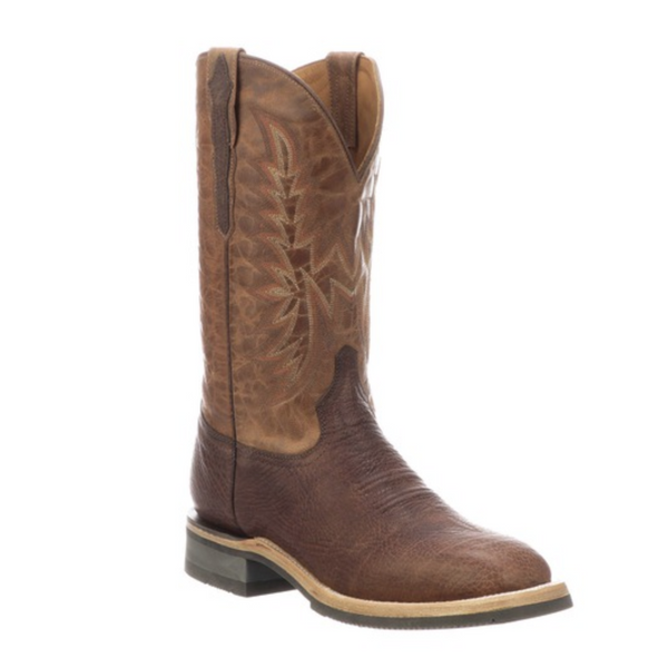 Lucchese Chocolate Rudy Boot - headwestbozeman