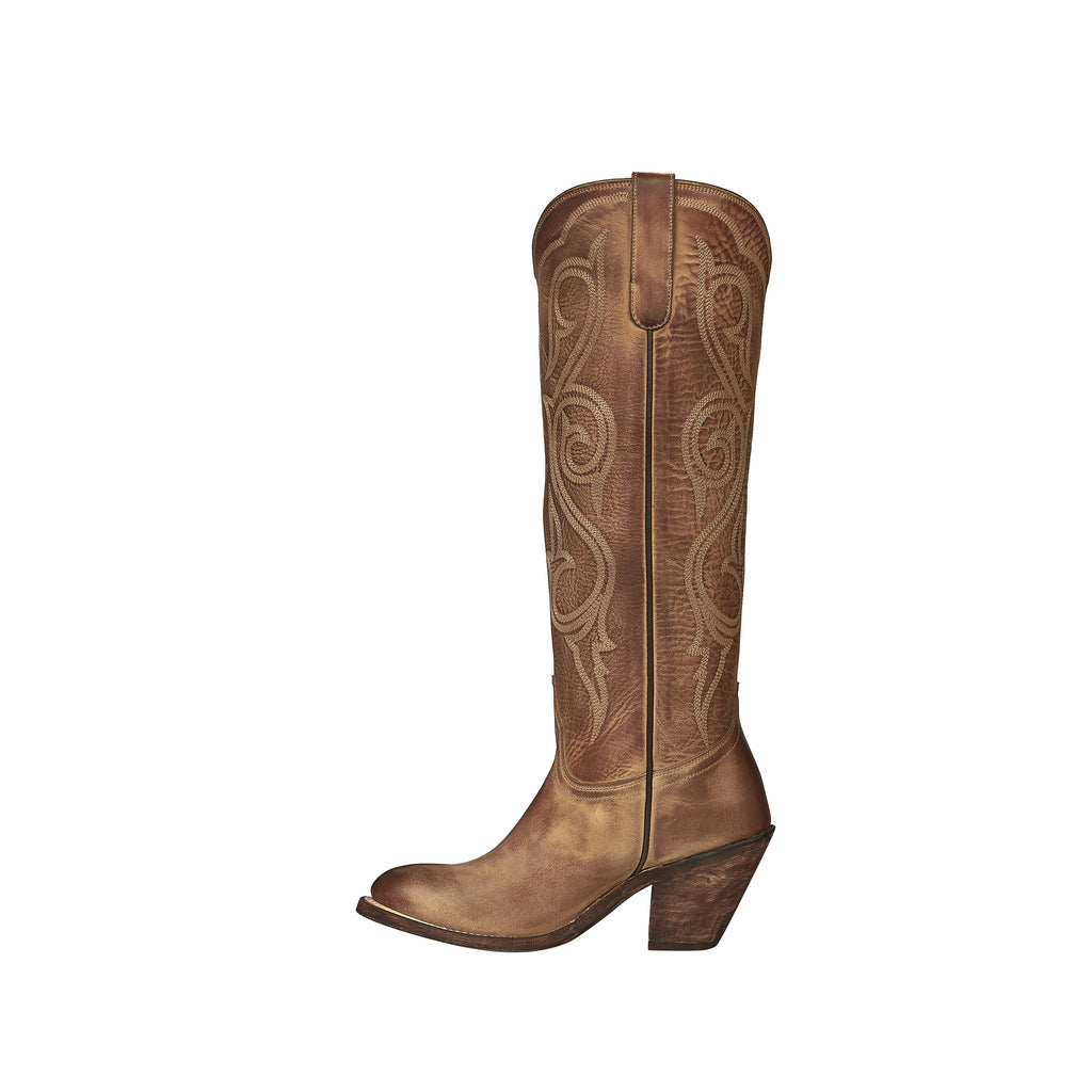 Handmade in Mexico, this Lucchese boot is a women's western boot.